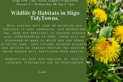 Session 3 : Wildlife and Habitats in Sligo