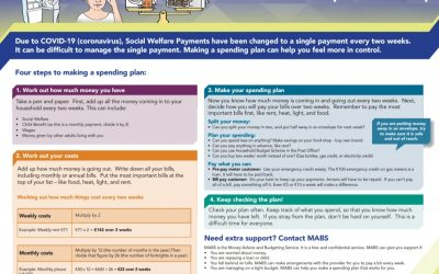 MABS 2 Week Budget Planner – Manage Your Money under Covid-19