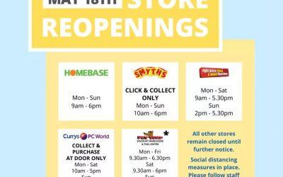 Sligo Retail Park 18 May Openings