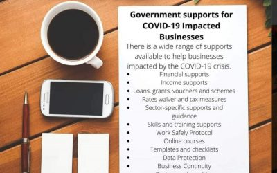 Government supports for COVID-19 impacted businesses
