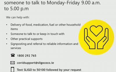 Sligo Covid 19 Community Support Helpline