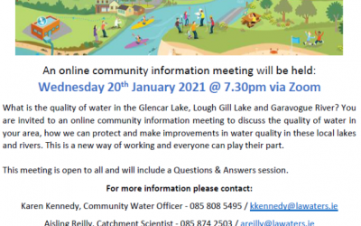 What's happening in Glencar Lake & Lough Gill Catchments