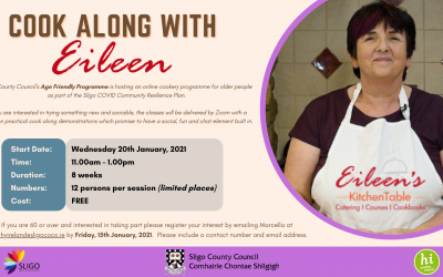 COOK ALONG WITH EILEEN