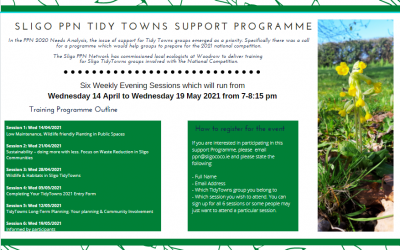 Sligo PPN Tidy Towns Support Programme