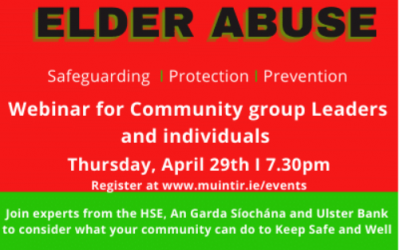 Lifting the Lid on Elder abuse- Webinar